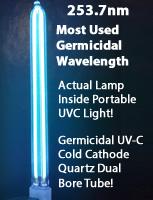 Germicidal-uvc-cold-cathode-quartz-dual-bore-tube-u-tube-portable-uvc-wand-buld-12-volt