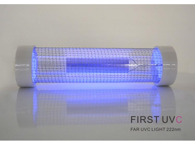 QuantaLamp 20-Watt Excimer 222nm Far UVC Light Bulbs 20w Far-UV Light Quartz Glass Tube 28mm*120mm 24V DC
