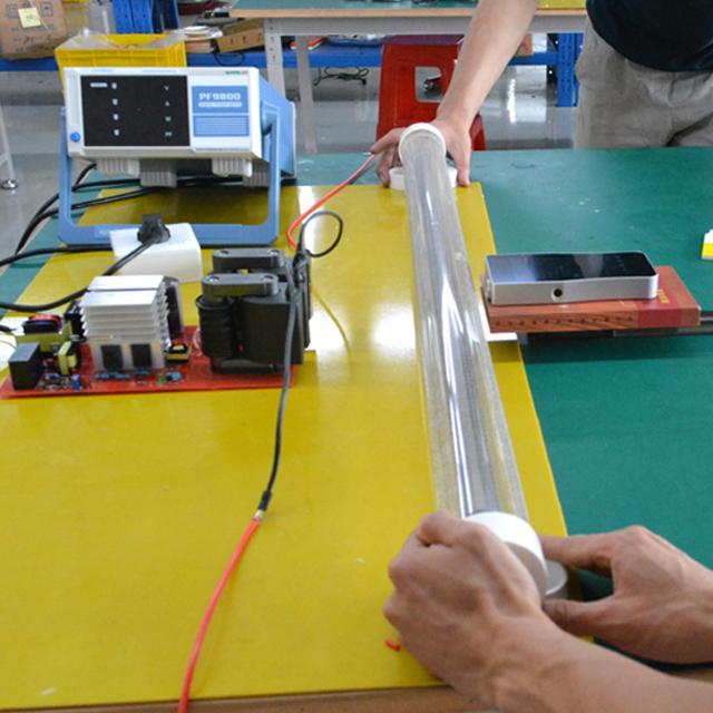 QuantaLamp 1000-Watt Excimer 222nm Far UVC Light Bulbs 1000w Far-UV Light Quartz Glass Tube 55mm*1000mm 110V/220V AC